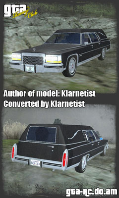 Скриншот Cadillac Fleetwood Hearse'85