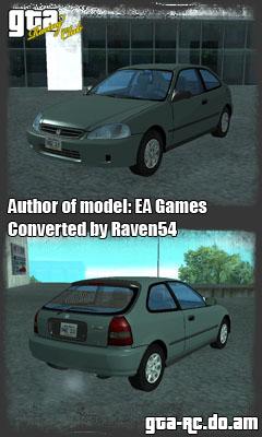 Скриншот HONDA CIVIC CX