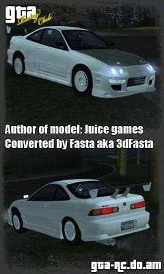 Скриншот Honda Integra R-Type