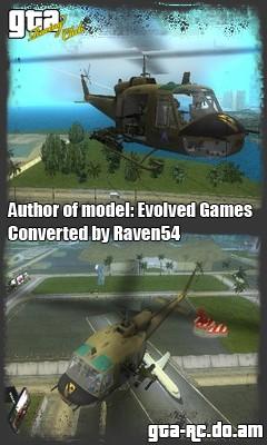 "Скриншот UH-1B ""Huey"""